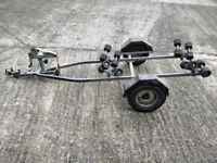 JETSKI ROLLER TRAILER / BOAT JET SKI TRAILER FACTORY MADE