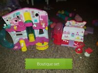 Shopkins Boutique and Make up play set
