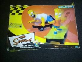 SIMPSONS SLOT CAR RACING