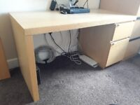 ***** IKEA DESK AND OFFICE CHAIR *****