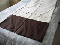 """pair of curtains 60"""" x72"""""""