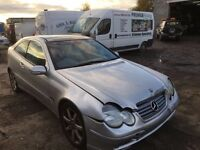 Mercedes Benz C180 Class - Spare Parts Available- Gearbox- Engine