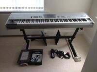 Korg Trinity V3 proX Music Workstation with DRS 88 Weighted Keys. Original manuals,disks & packaging