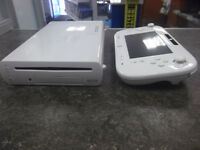 Nintendo Wii U, 8GB, White including Leads & Controller