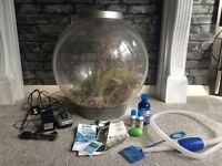 BiOrb 60 litre fish tank with accessories OPEN TO OFFERS