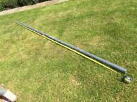 3m Sail Shade Steel Pole and Ground Sleeve