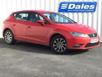 Seat Leon 1.6 TDI SE 5dr (red) 2013