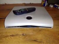 HD slim Thomson Sky TV box comes with remote and power cable