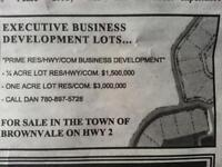 PRIME RES/HWY/COM DEVELOPMENT LOTS FOR SALE!