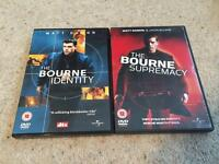 2 X Bourne DVDs for £1