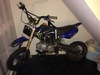 Limited edition m2r off road pit bike