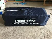 Large Travel Cot and Playpen