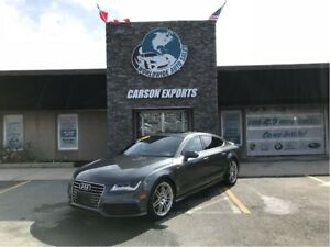 2013 Audi A7 WOW BEAUTIFUL 3.0L PREMIUM! $288.00 BI-WEEKLY+TAX!