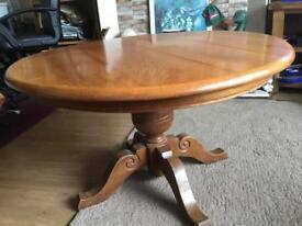 Wood table. Corsham or Bristol