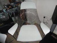 Funky Bertoia Chairs