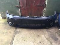 Ford focus front bumper st170
