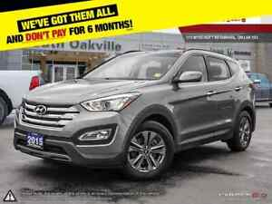 2015 Hyundai Santa Fe Sport | AWD | DUAL SUNROOF | HEATED LEATHE