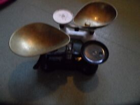 2 old scales for sale suit home, or shop display