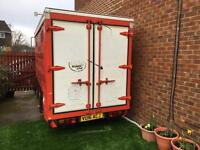 Twin axle box trailer/ music stage/ Carboot/