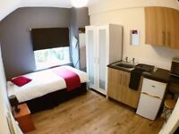 FURNISHED STUDIO IN KIRKSTALL - ALL INCL RENT - AVAIL NOW