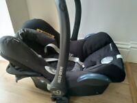 Maxi-Cosi CabrioFix Group 0+ Baby Car Seat, Nomad Black
