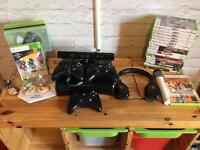 Xbox 360 S Console with lots of extras