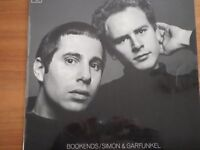 VINYL LP SIMON AND GARFUNKEL, BOOKENDS, MONO, ORANGE CBS 1968 , MATRIX NUMBERS PBG 63101 – A1