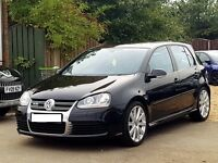 Perfect condition R32 4motion 5drs black metallic 2009 registered