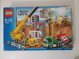 LEGO CITY 7633 CONSTRUCTION SITE