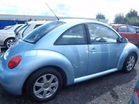 2004 V W Beetle 1.9TDi 95,000 miles Leather,Alloys,MOT'd 1 Year £1495