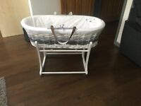 Mothercare moses baskets
