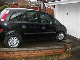 Vauxhall Meriva Life 8 Valve 9 Months MOT