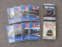 Steam railway DVD,S