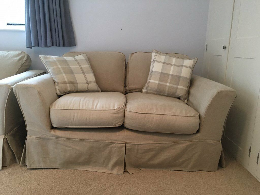 Small Two Seater Rosie Sofa Workshop Loose Cover Sofa In