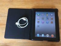Apple iPad 1st Generation 16 GB wifi + genuine Apple case + USB charging lead