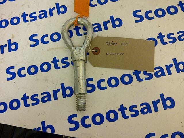 SAAB 9-3 93 Towing Eye Unit 2008 - 2010 12783977 4D 5D CV