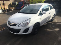 BREAKING - VAUXHALL CORSA D FACELIFT - FRONT BUMPER WHITE - ALL PARTS AVAILABLE