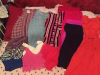 Ladies bundle of holiday clothes