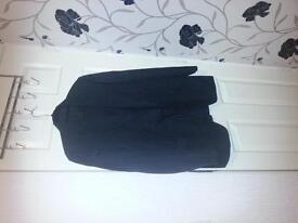 as new man 2 x piece suites coat and toures black