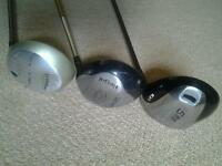 Drivers and Putters from £5 each