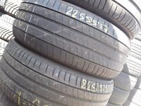 Part worn tyres / used tyres/ 225/55/17 x 4 / michelin primacy / London Barking Ig117bg