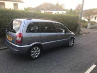 Vauxhall Zafira Breeze MPV (Silver)