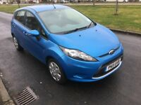 2011 Ford Fiesta 1.4 TDCi Econetic DPF Edge, 5 Door, MOT & History, 2 Owner, Metallic Blue