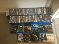 JOBLOT OF 157 BLU-RAY MOVIES INCLUDING BOX SETS