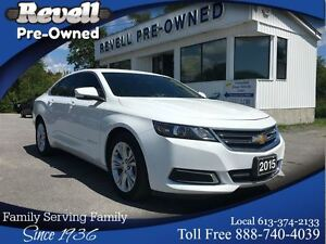 2015 Chevrolet Impala LT  *1-owner  Leather  Alloys  Sirius