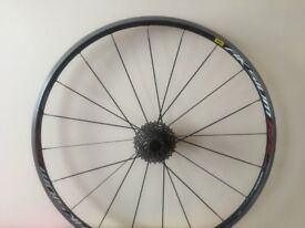 Mavic aksium rear wheel shimano specialized trek giant