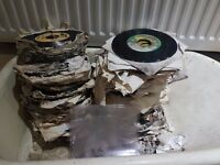 Big pile of soiled Reggae Vinyls (150-200 vinyls)