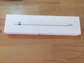 Apple pen in box