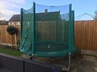 8 ft trampoline in original box