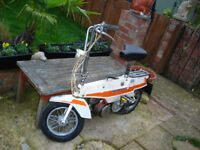 motobecane cm x1 suitcase moped vintage classic